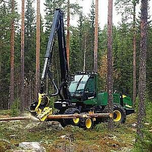 Harvester Timberjack 1070B
