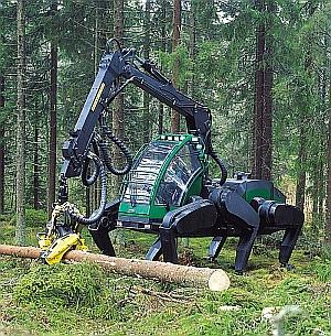 Timberjack-Schreitharvester