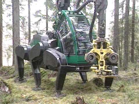 Timberjack Schreitharvester